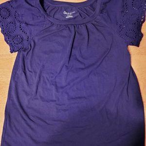 Girls Cat and Jack shirt top medium